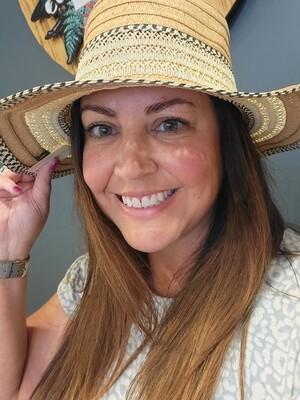 WOVEN PANAMA HAT