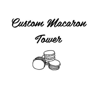 Custom Macaron Tower
