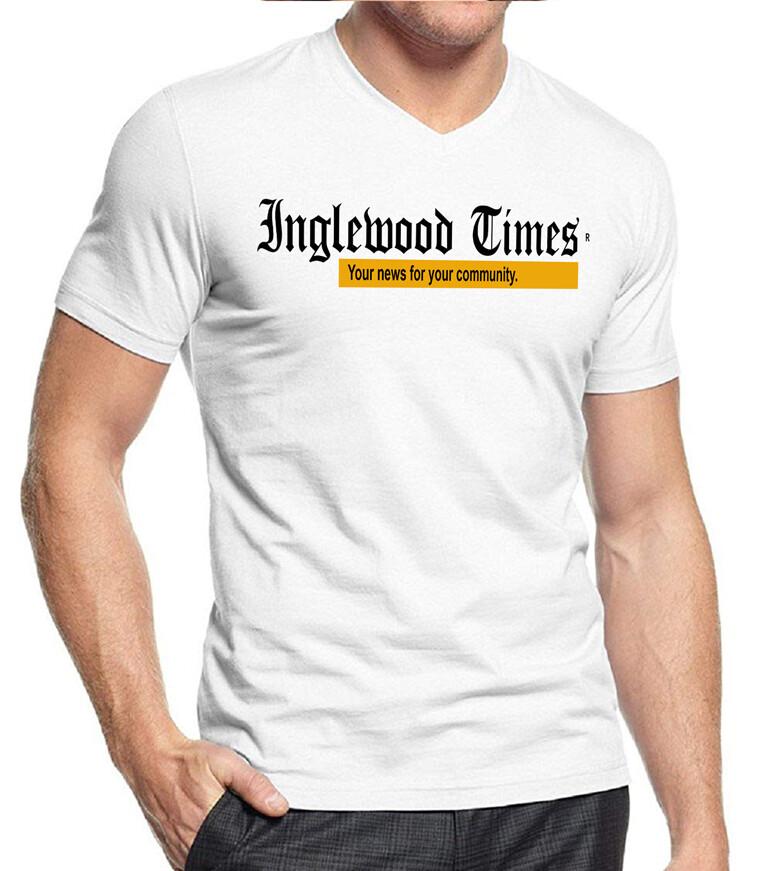 Inglewood Times Unisex White T-Shirt