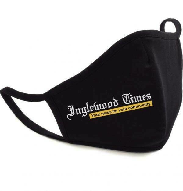 Inglewood Times Black Mask