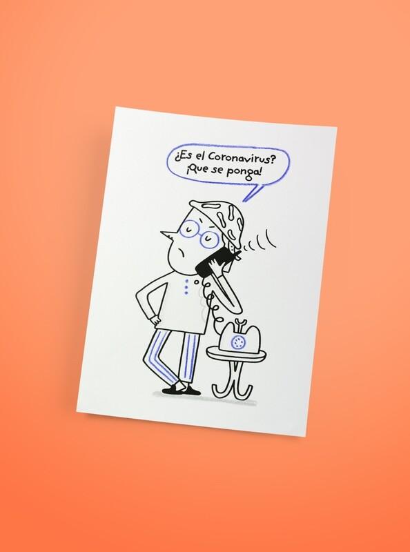 ¿Es el Coronavirus? - Serigrafía