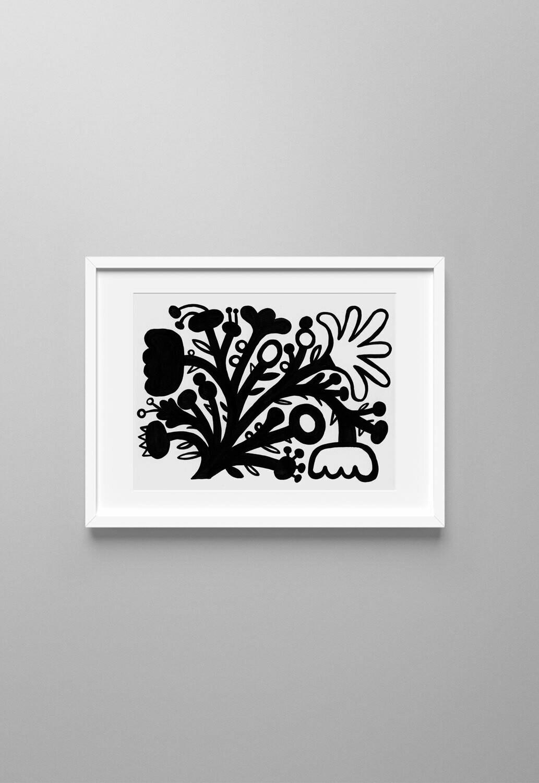 Flores Negras #03 - original