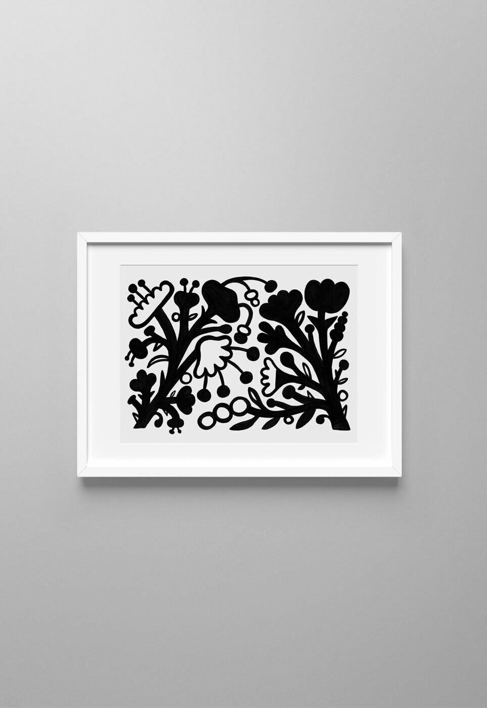 Flores Negras #01