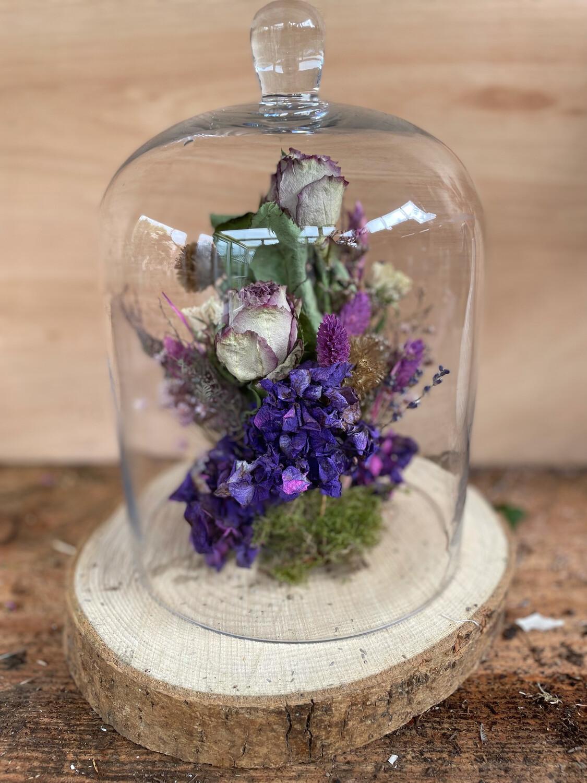 Bell Jar Dried Flower Workshop 19th June
