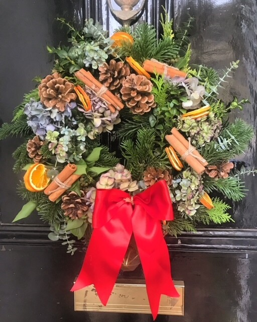 Christmas Wreath Workshop - Sunday 5th December 2021, 2pm