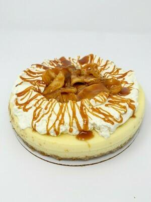Apple & Salted Caramel Cheesecake