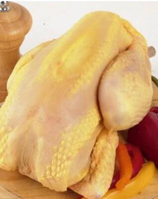 Poulet fermier pac jaune