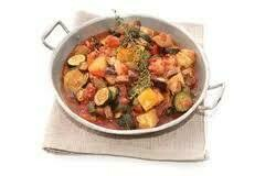 Barquette de légumes frais cuisinés