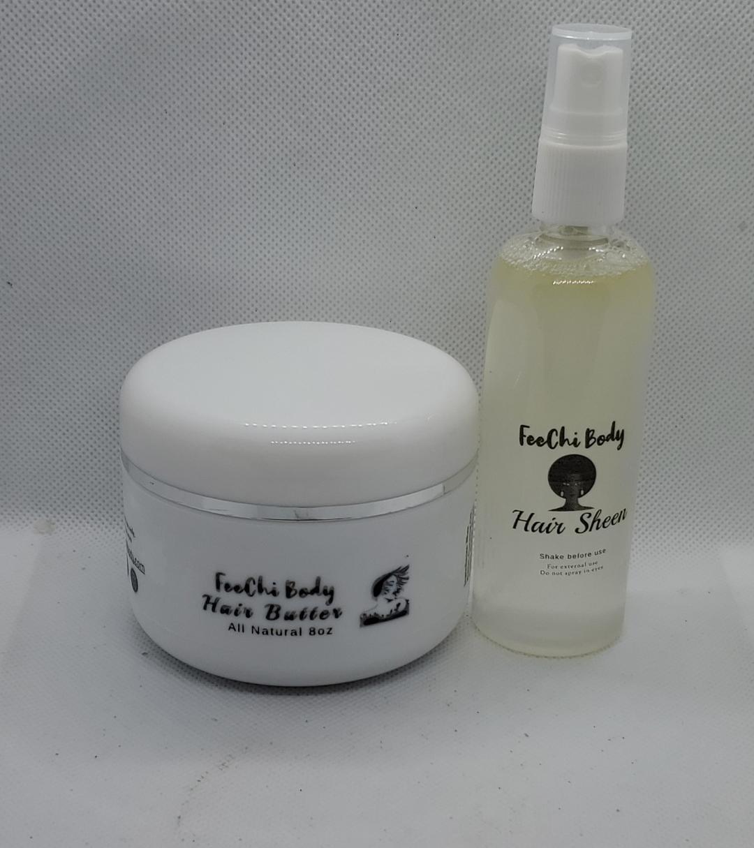 All Natural Hair Care Kit