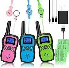 Walkie Talkies for homeless child