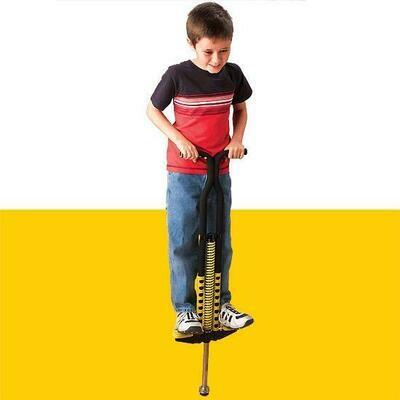 Pogo Stick for homeless child