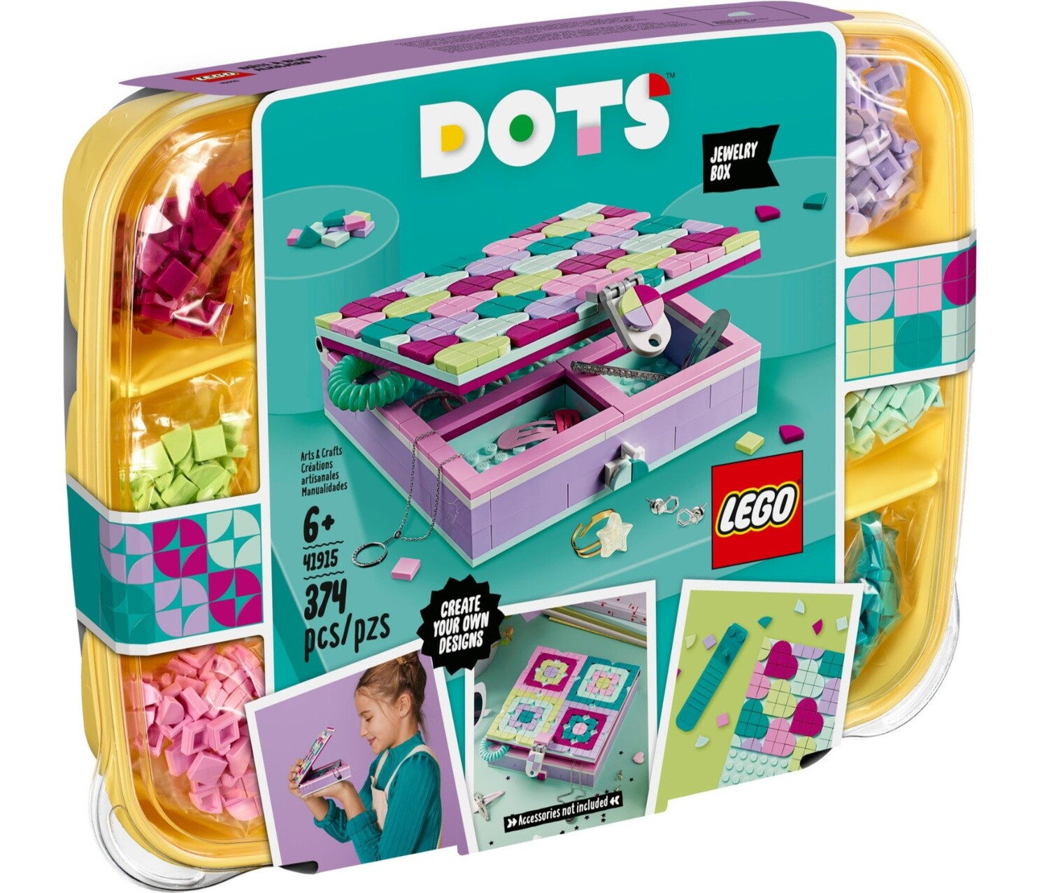 Lego Dots for homeless child