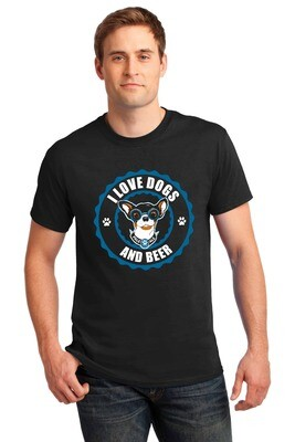 I Love Dogs and Beer Design