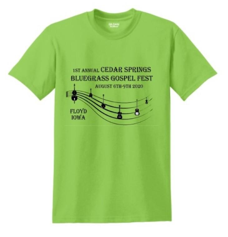 Clearance Sale:  2020 CSBG Fest T-Shirt