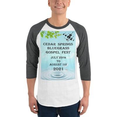 2021 3/4 sleeve Raglan shirt