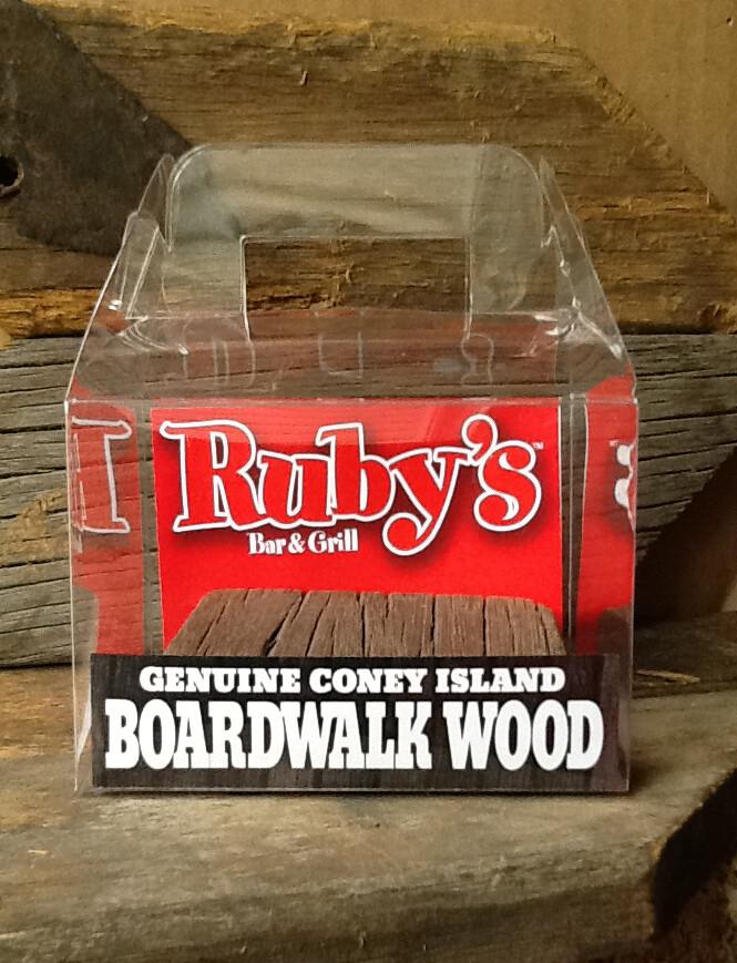 Original 1920s Coney Island boardwalk wood - Ruby's exclusive!