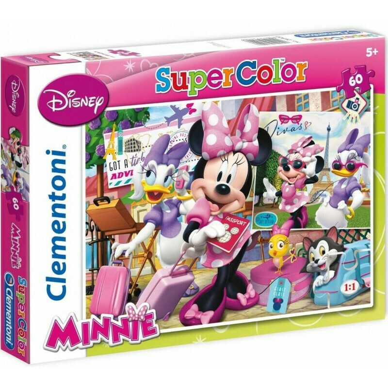 "PUZZLE Clementoni - ""Minnie"" - 60 pieces"