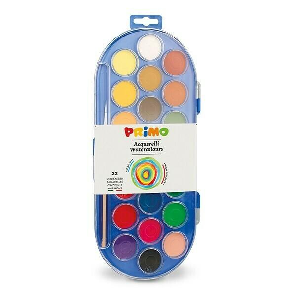 Bojra Uji Primo Acquerello in pastiglia 22 colori Ø 30 mm