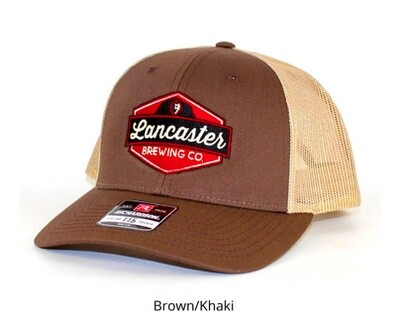 LBC Logo Hat  - Brown/Khaki