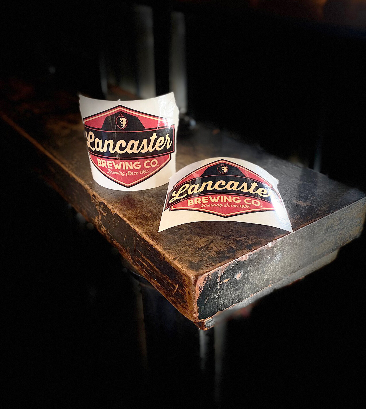 Lancaster Brewing Company Stickers (2)