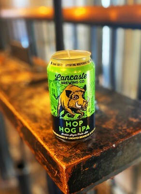 Hop Hog Beer CANdle