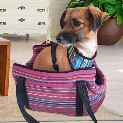 Bolsa transportadora para mascotas