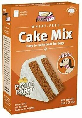 Puppy Cake Cake Mix - Sabor Mantequilla de Maní
