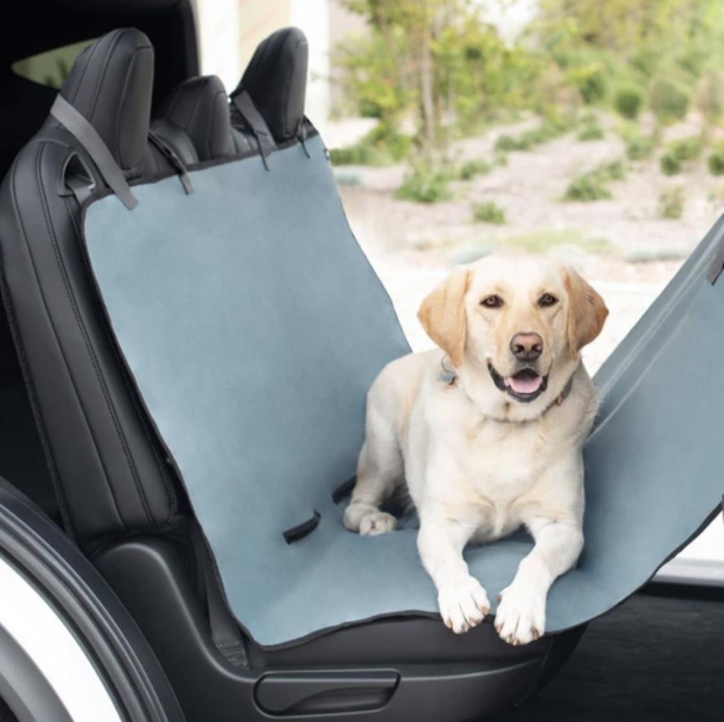 ZippyPaws Funda protectora para asiento trasero del carro