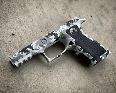 Sig Sauer P320 X-Carry DigiCam Grip Module- Grey/Black/White