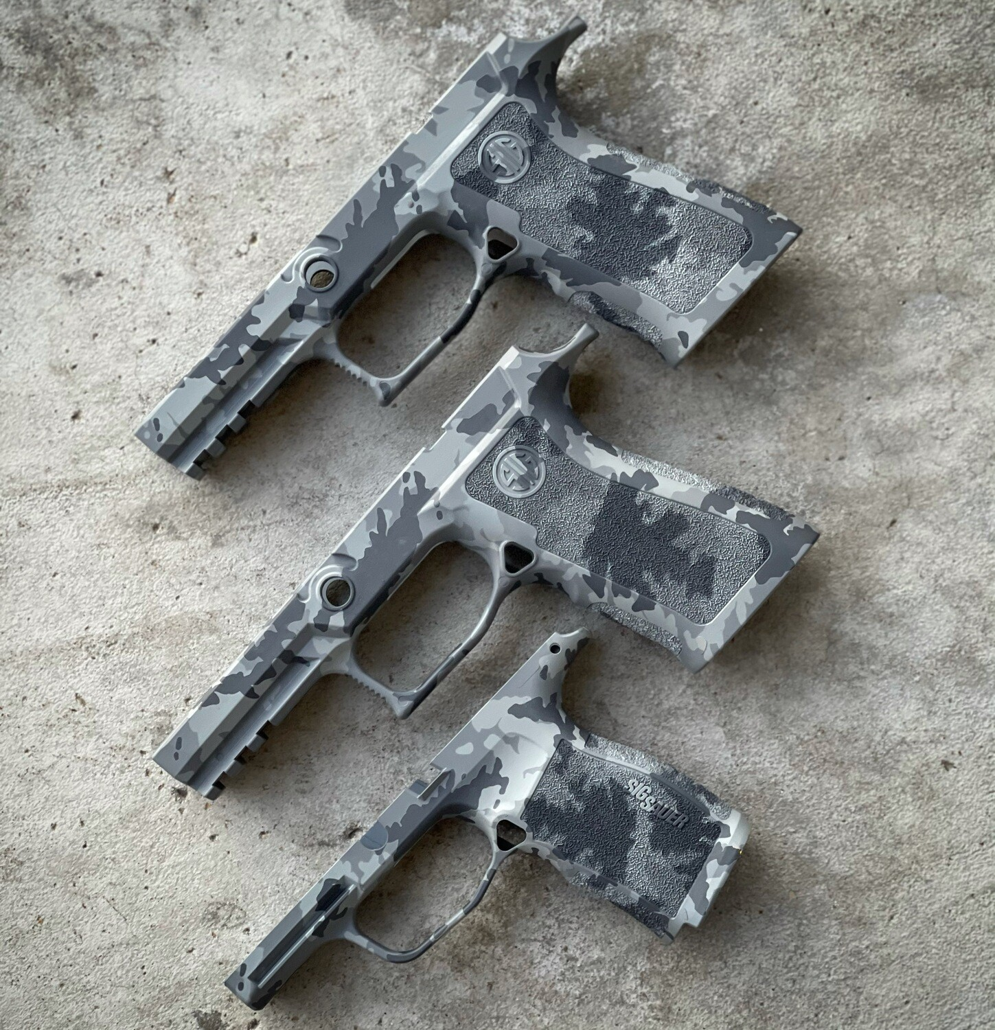 Sig Sauer P320 X-Carry in Grey Multicam  (READY-2-SHIP)