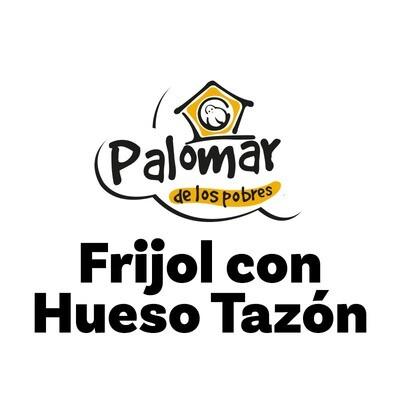 Frijol con Huezo Tazón