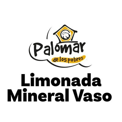Limonada Mineral Vaso