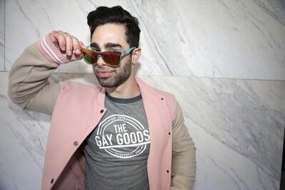 The Gay Goods Original - Baseball T-Shirt