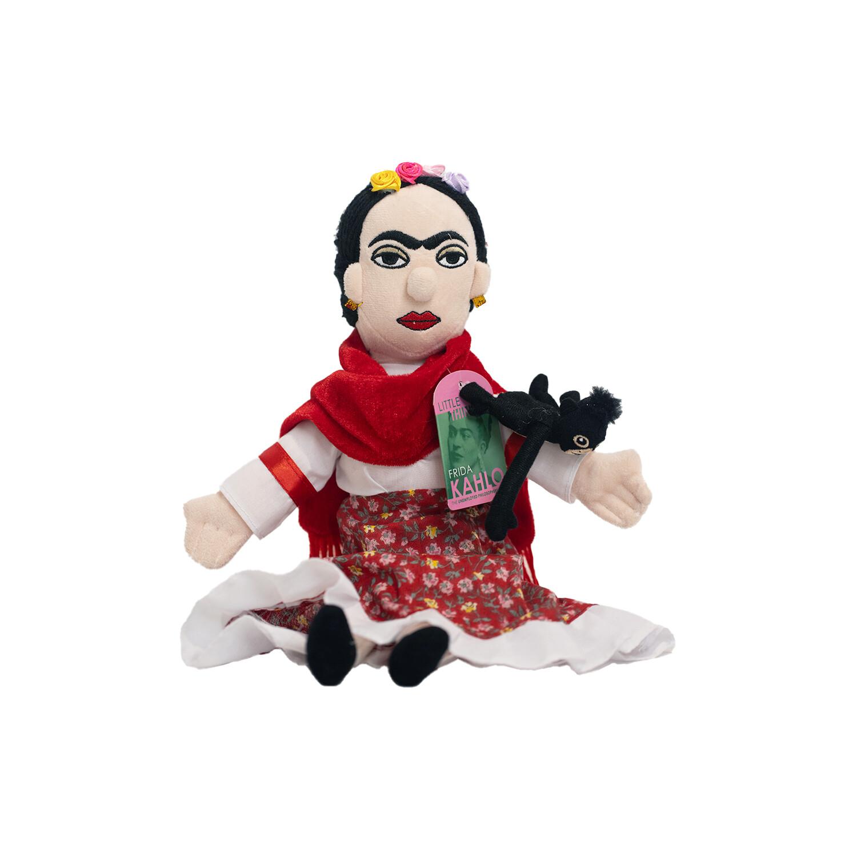 Frida Kahlo Little Thinker Plush Doll