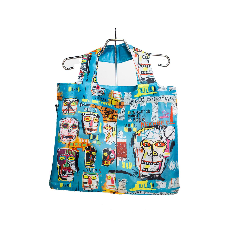 Jean-Michel Basquiat Reusable Shopping Bag