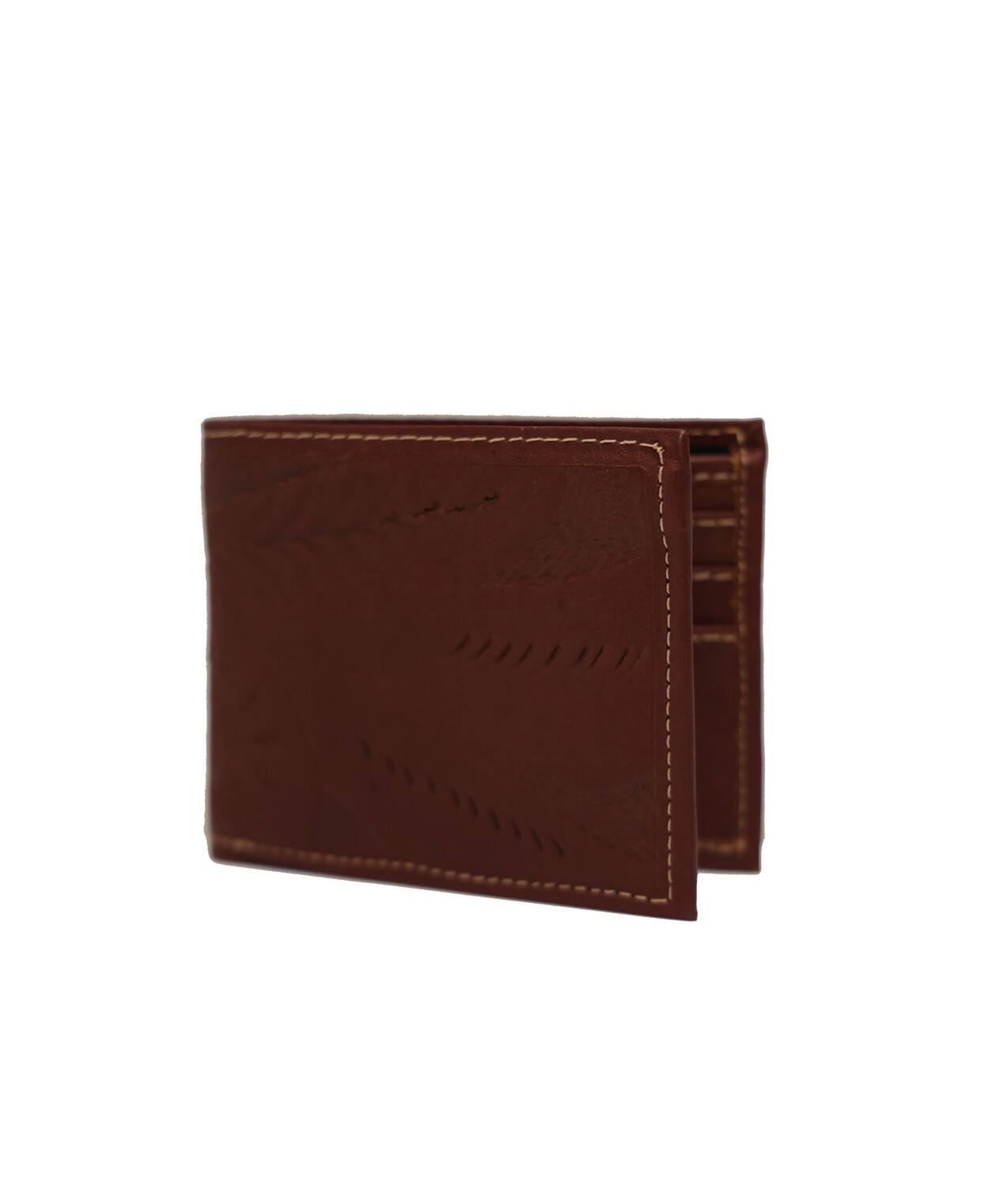Paraguay Tooled Leather Bifold Wallet