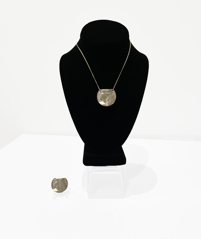 Robert Graham Celeste Sterling Silver Medallion