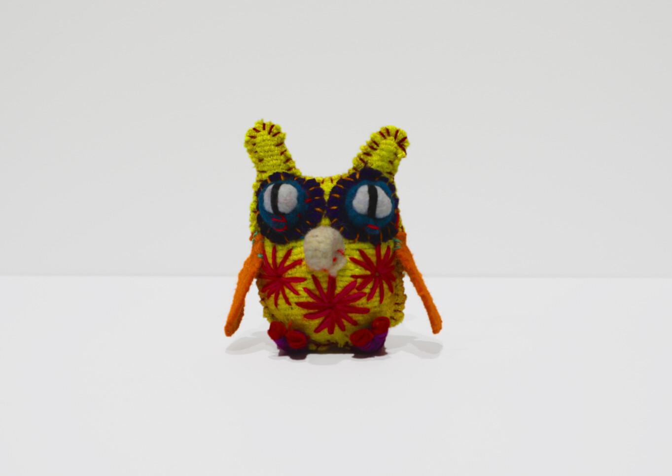 Mexican Owl Wool Animalito