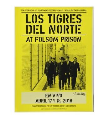 Los Tigres Del Norte Concert Poster