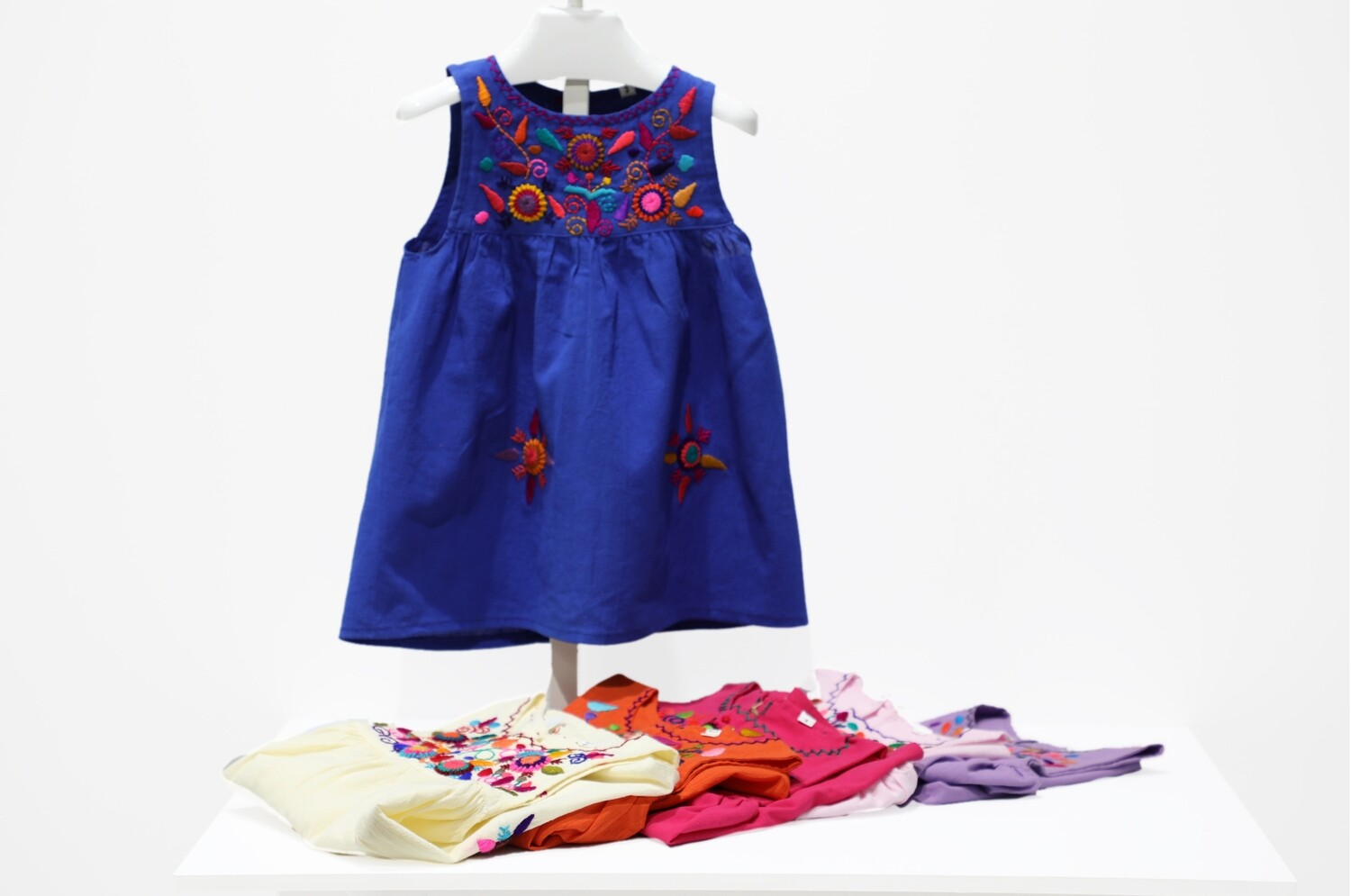 Guatemalan Embroidered Girl's Dress