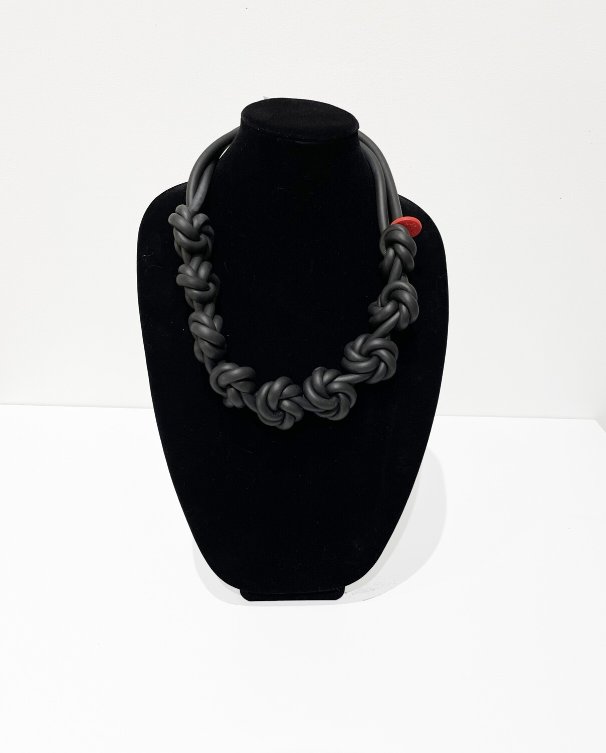 Puerto Rican Bold II Rubber Cable Necklace