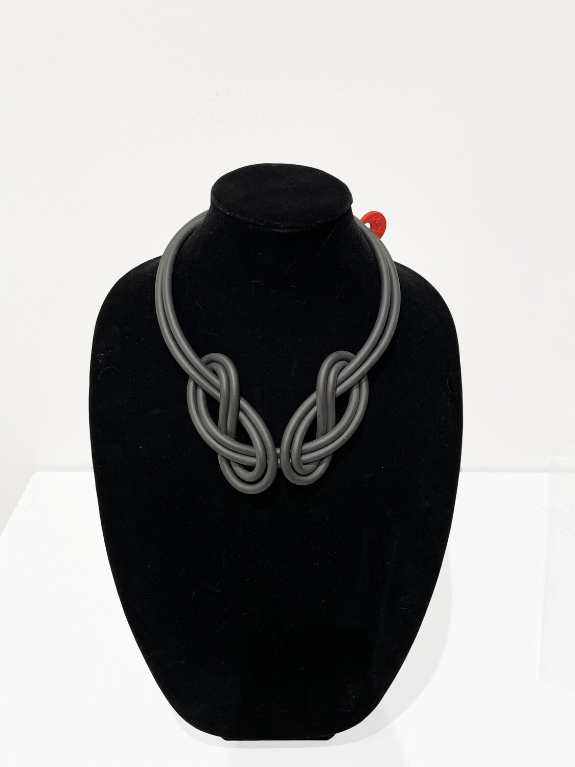 Puerto Rican Persephone Rubber Cable Necklace