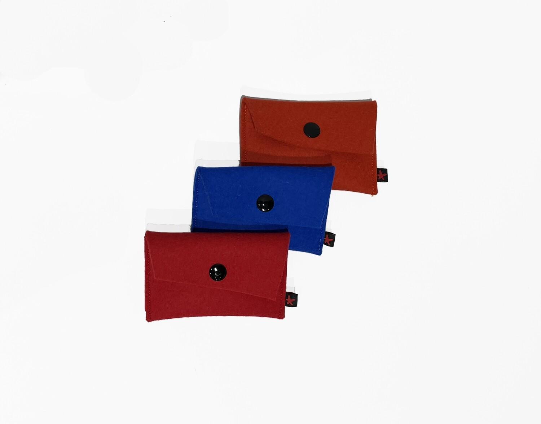 Puerto Rican Wool Mini Wallet