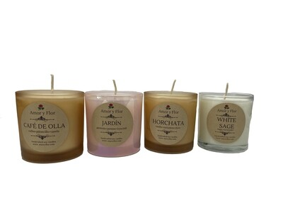Amor Y Flor Scented Candle