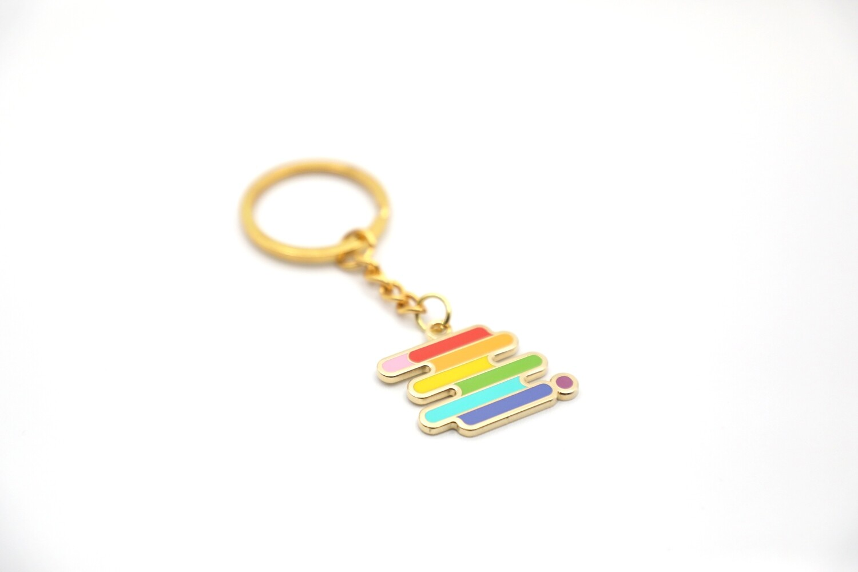 Pride Enamel Keychain