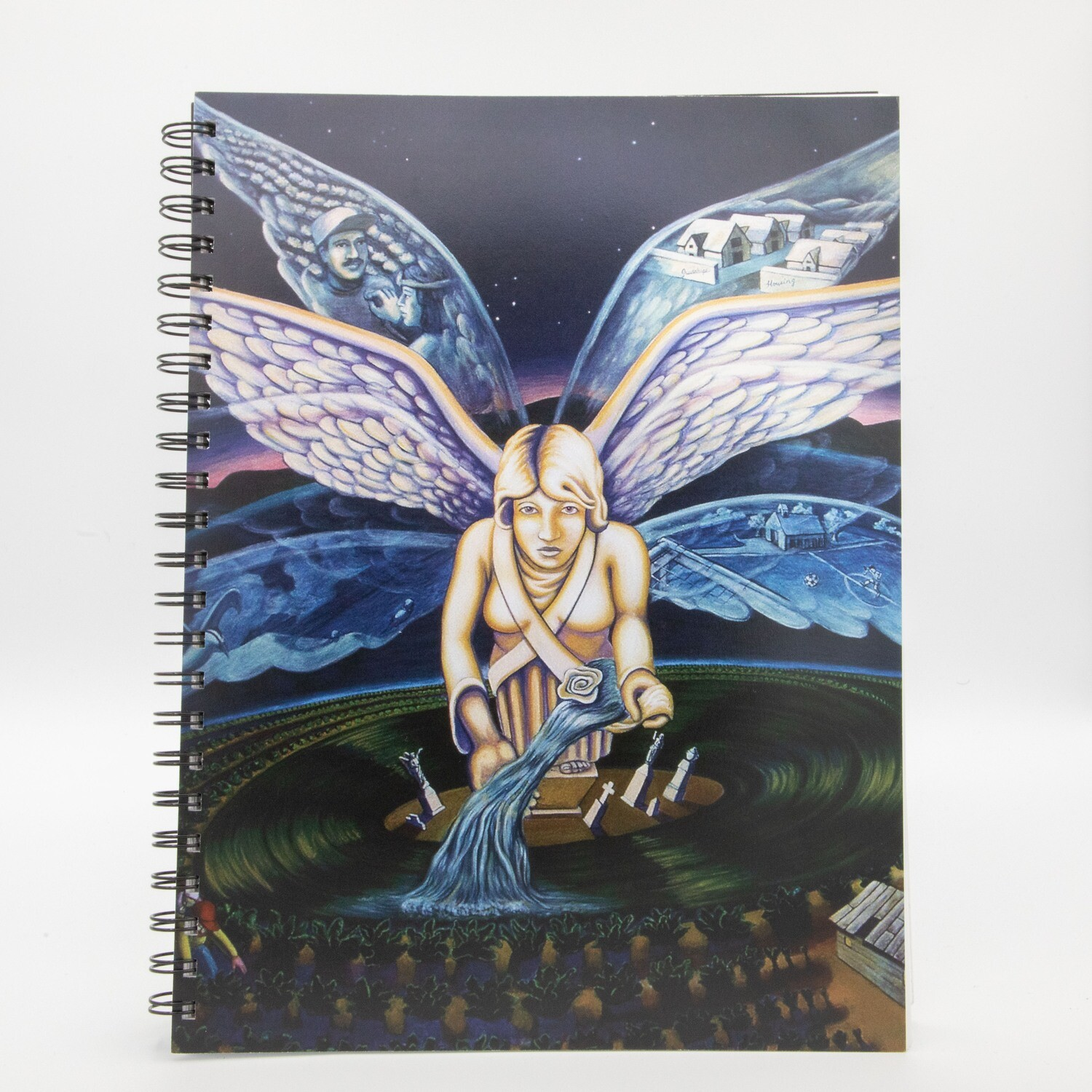 Guadalupe Angel Spiral Notebook