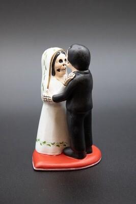 DOD Bride and Groom Cake Topper