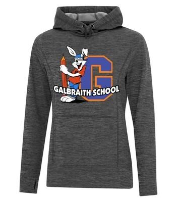 ATC™ Dynamic Heather Fleece Hooded Ladies' Sweatshirt