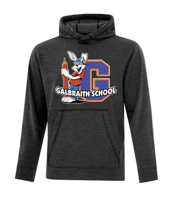 ATC™ Dynamic Heather Fleece Adult Hooded Sweatshirt