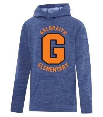 ATC™ Dynamic Heather Fleece Hooded Youth Sweatshirt